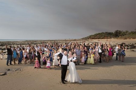 Glen and Candice Beautiful Cable Beach Wedding