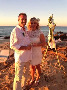 Ross and Kathleen Oakes Beautiful Eco Beach Wedding