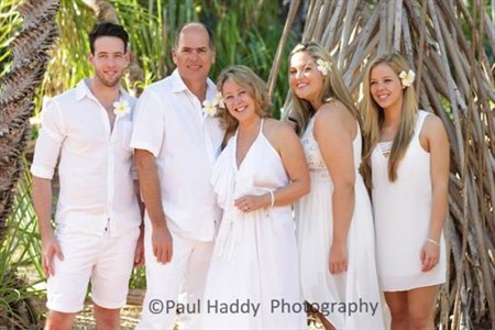 Susan and Thomas Kieckhefer and Family Beautiful Cable Beach Wedding Photography by Paul Haddy