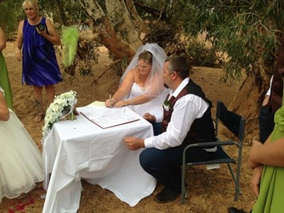 The Fletchers Wedding Gascoyne Junction