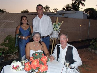Beven and Cha ums Beautiful Broome Wedding