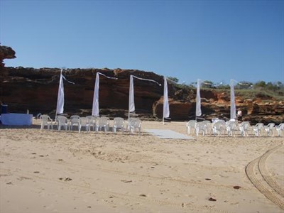 Chris & Kathleen Thompson's Wedding at Entrance Point Broome Western Australia
