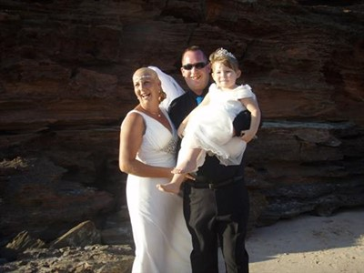 Chris & Kath Thompson 'Beautiful Wedding at Entrance Point Broome