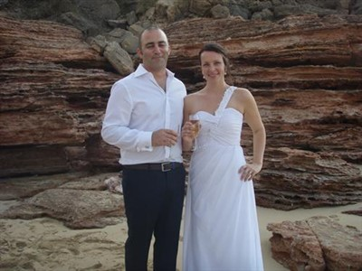 Dave & Linda Abdo 'Wedding at Eco Beach Wilderness Retreat' Broome WA