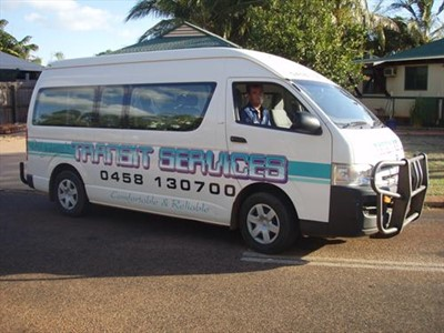 Call Daz Johnson 0458130700 for your transport needs in & around Broome