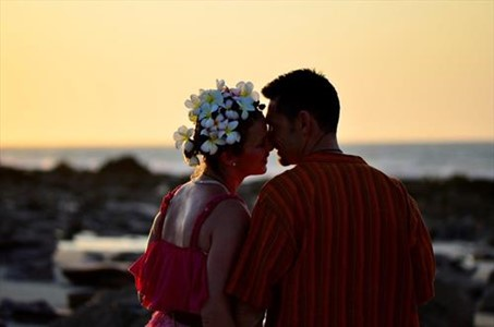Warren Hicks and Linda have their Beautiful Wedding at Eco Beach Wilderness Retreat
