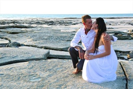 Jake and Stefania Cable Beach Wedding