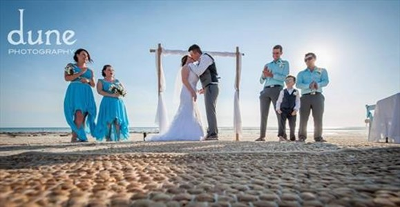 Shay and Adams Beautiful Cable Beach Wedding Ceremony