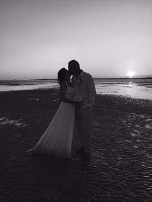 Hovercraft Base Wedding in the Roebuck Bay Broome